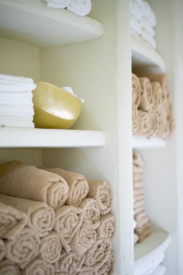Estantería de toallas